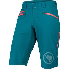 Endura SingleTrack II Shorts Women, petrol
